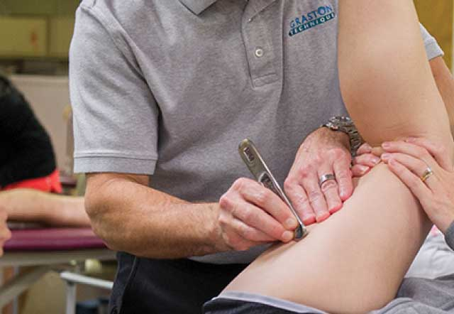 グラストンテクニックは様々な身体の組織の問題に対してケアすることが出来る施術です。