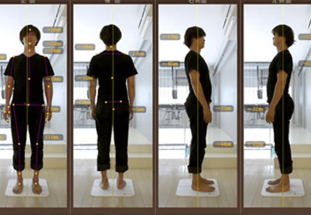 測定時間はわずか1分!わかりやすいメーター表示で、体の状態を提示